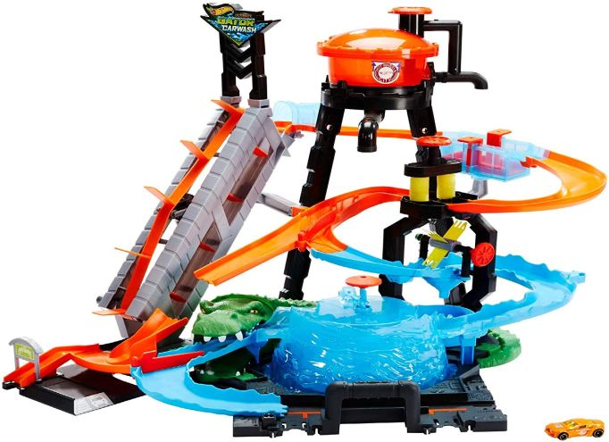 Hot Wheels Ultimate Gator Car Wash Play Set