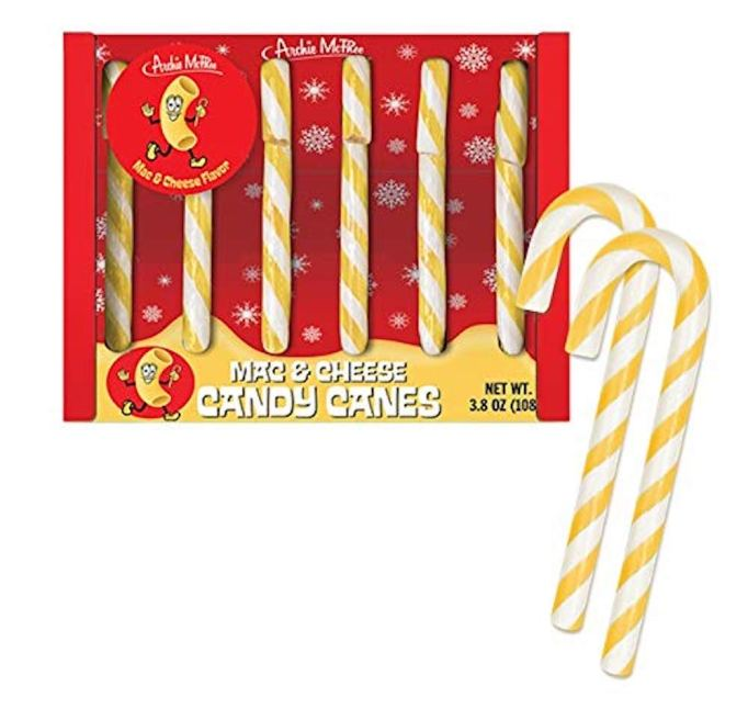photo of Mac & Cheese Candy Canes