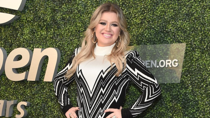 Kelly Clarkson attends the USTA 18th