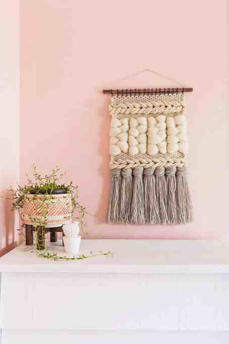 DIY Quick Weave Wall Hanging