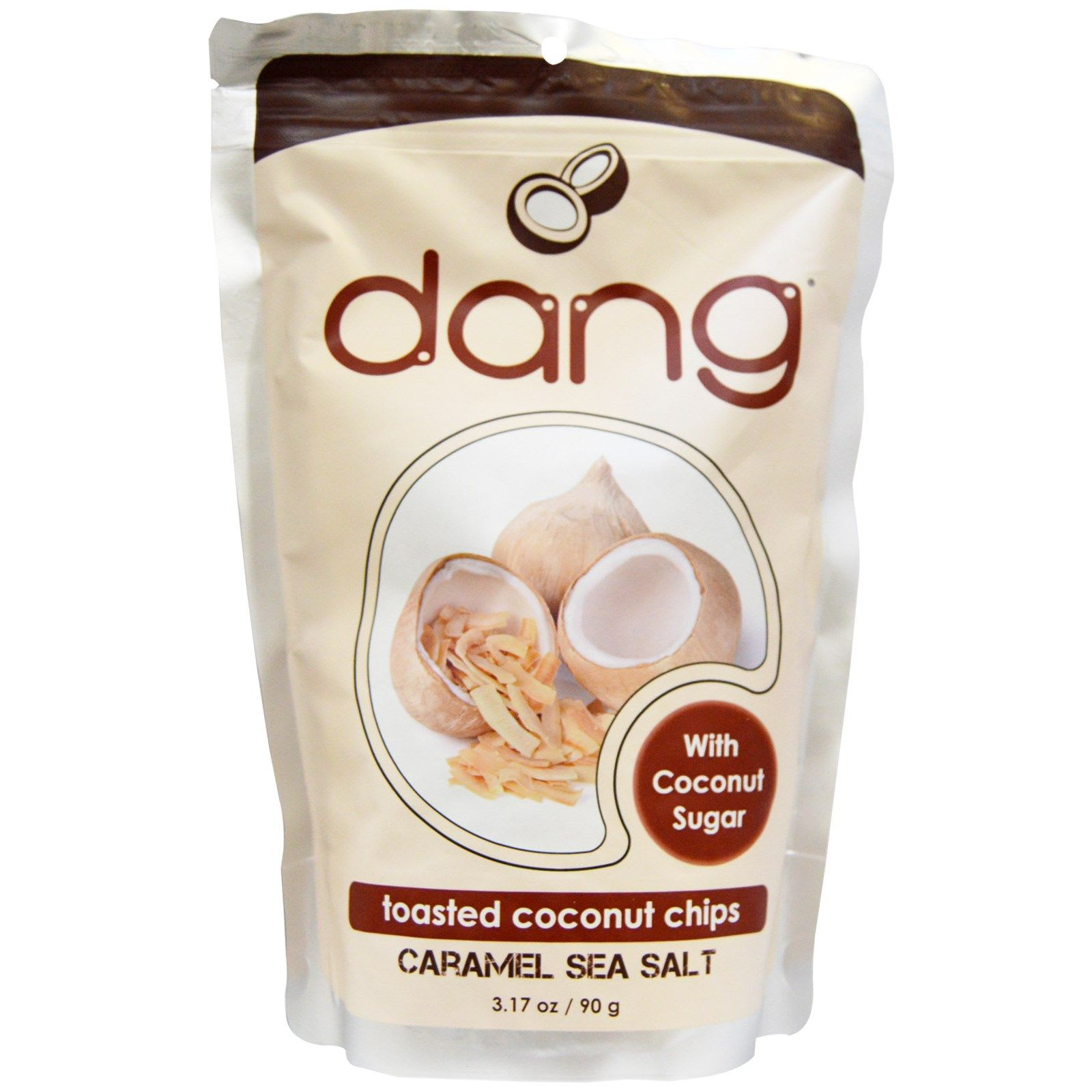 Dang Toasted Caramel Coconut Chips