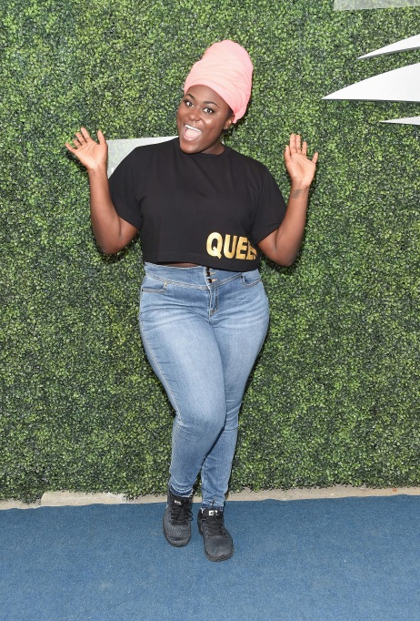 Danielle Brooks arrives at 2018 US Open