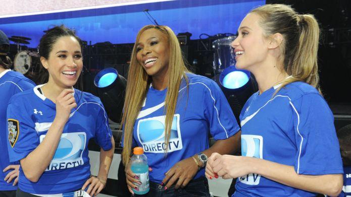 Meghan Markle, Serena Williams, DirecTV Beach