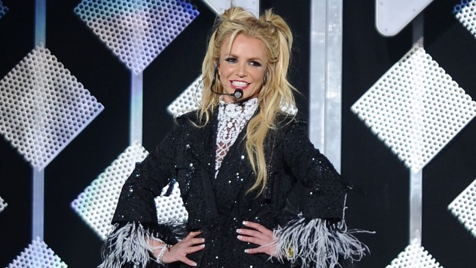 Britney Spears performs at 102.7 KIIS