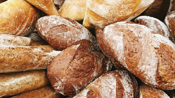 photo of loaves of bread