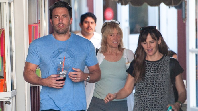 Ben Affleck and mother Chris Anne