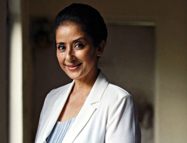 Bollywood actress Manisha Koirala poses for a profile shot on Sept. 1, 2017, in New Delhi, India.