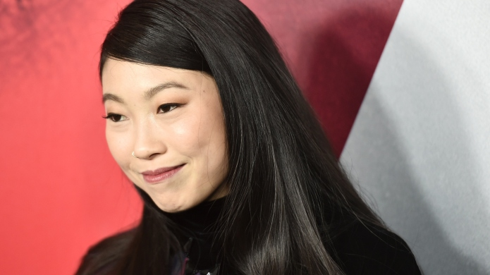 Awkwafina attends the New York premiere