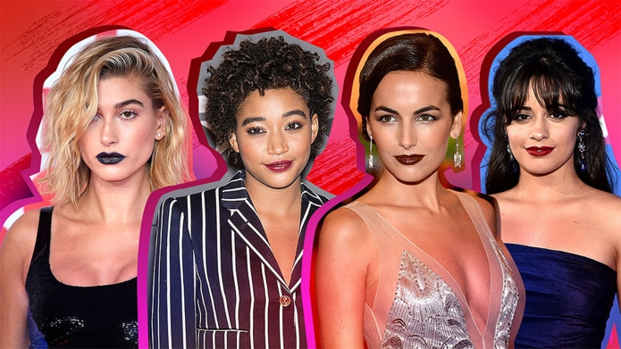 Celebrity Vampy Lipstick Inspo for Your