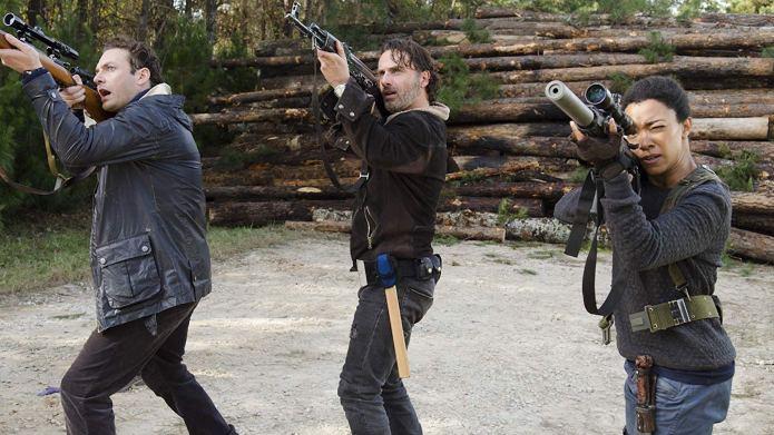 Sonequa Martin-Green on 'The Walking Dead'