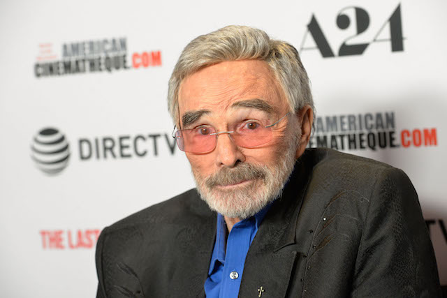Burt Reynolds attends the Los Angeles premiere of 'The Last Movie Star' at the Egyptian Theatre