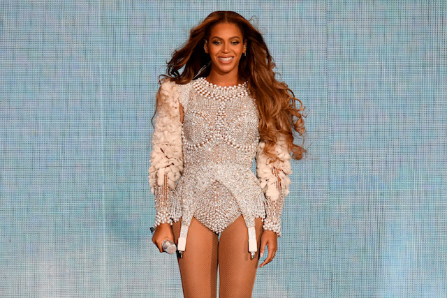 Beyonce performs onstage during the 'On the Run II' Tour at NRG Stadium