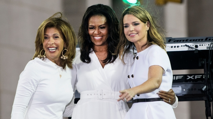 Hota Kotb, Michelle Obama and Savannah