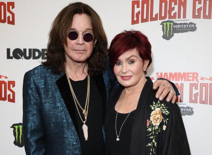 Ozzy Osbourne and Ozzy Osbourne attend the Metal Hammer Golden God Awards at Indigo at The O2 Arena