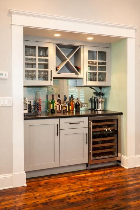 Dining Room Bar Closet
