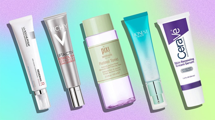 The Best Drugstore Retinol Products for