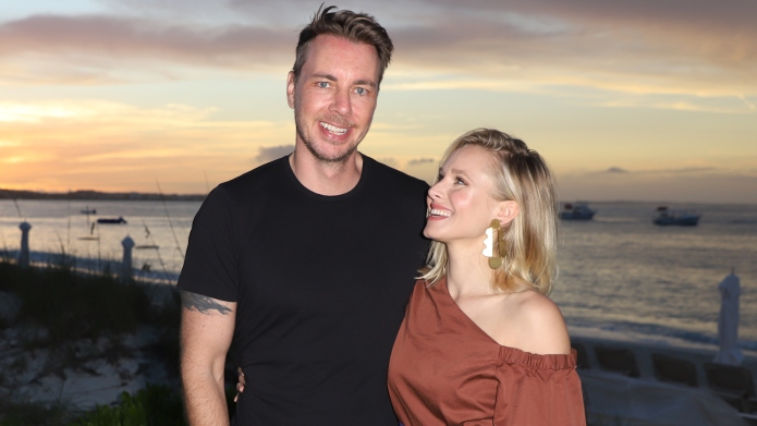 Dax Shepard and Kristen Bell vacation