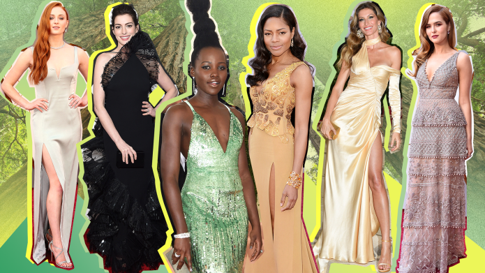 Celebrities' Best Eco-friendly Red Carpet Dresses