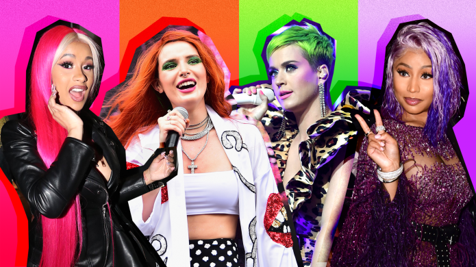 Celebs Who Have Rocked Neon-Colored Hair