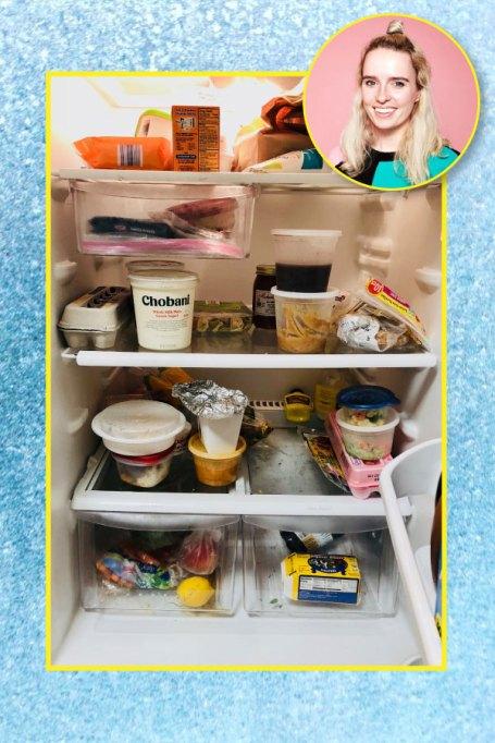 Lindsay Lanquist's fridge