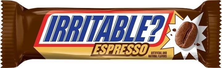 Snickers espresso flavor bar