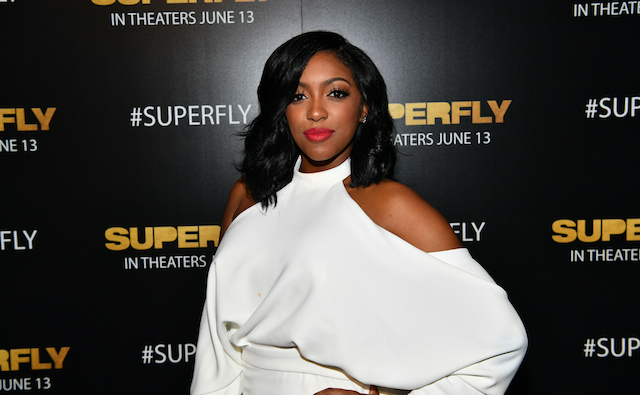 Porsha Williams attends Columbia Pictures 'Superfly' Atlanta special screening on June 7, 2018, at SCADShow in Atlanta, Georgia.