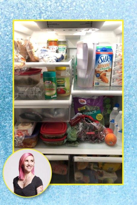 Kim Zapata's fridge