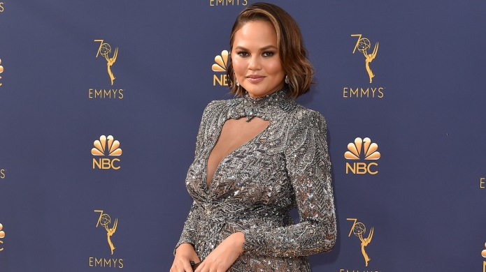 Chrissy Teigen attends the 70th Emmy