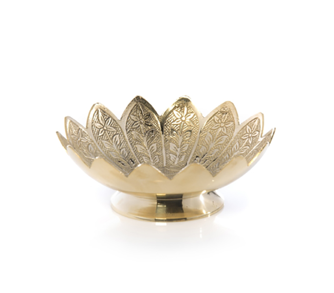 Brass Arya Dish