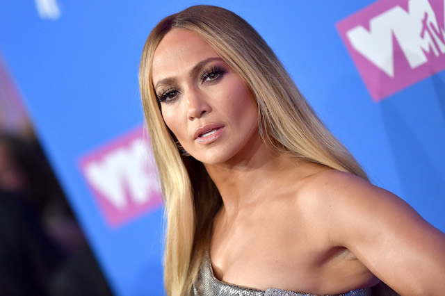 Jennifer Lopez attends the 2018 MTV Video Music Awards at Radio City Music Hall