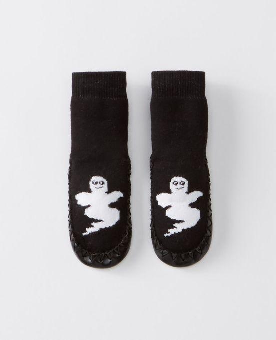 Ghost Swedish Slipper Moccasins