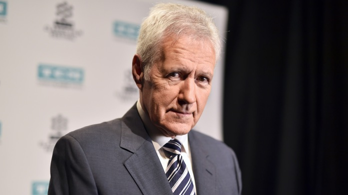 Alex Trebek attends the screening of