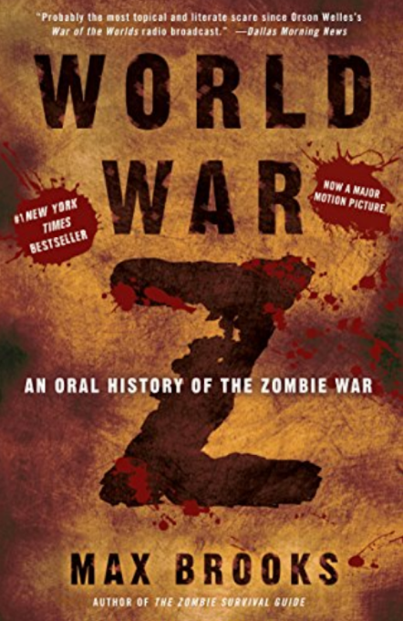 Cover of 'World War Z' by Max Brooks