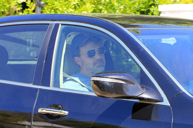 Ben Affleck is seen on September 08, 2018 in Los Angeles, California.