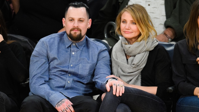 Benji Madden and Cameron Diaz attend