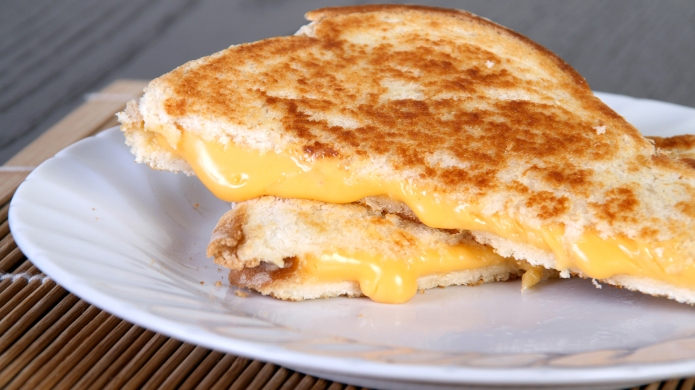 photo of grilled cheese