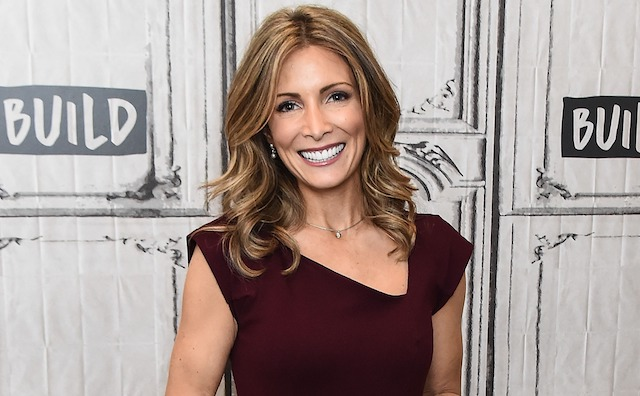 American former gymnast Shannon Miller attends the Build Series to discuss her partnership with Tesaro 'Our Way Forward' program at Build Studio on Jan. 30, 2018, in New York City.