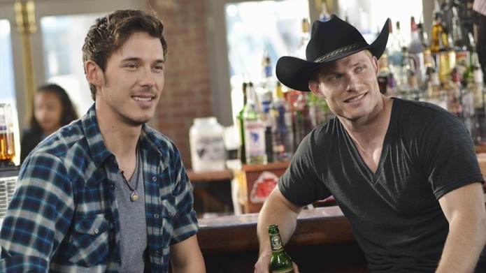 Still of Chris Carmack and Sam