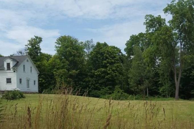 Haunted camping at Farnam Manor in Richfield, Ohio.