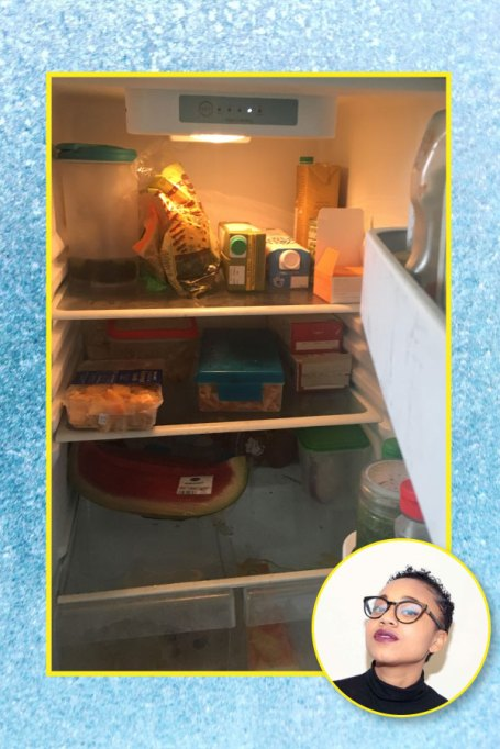 Nikki Brown's fridge