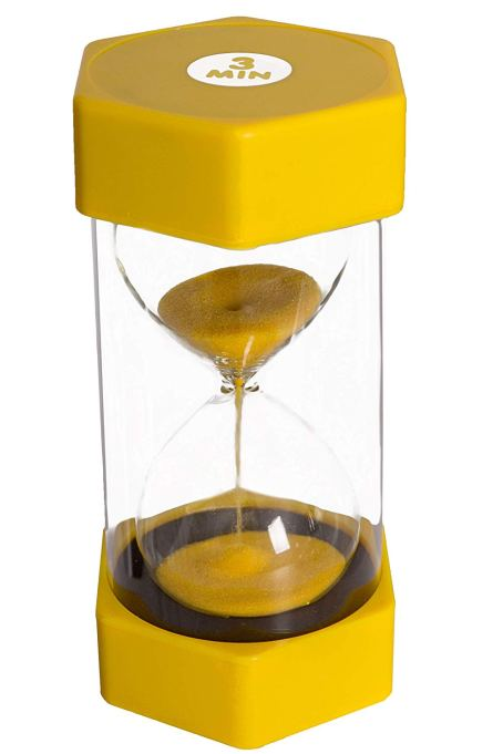 Playlearn USA Sand Timer for Kids