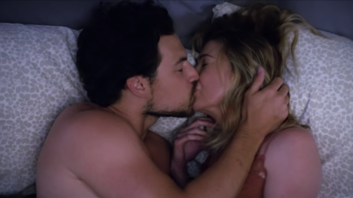 Photo of DeLuca and Meredith in