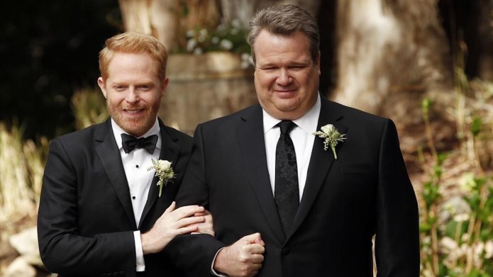 Still of Jesse Tyler Ferguson and