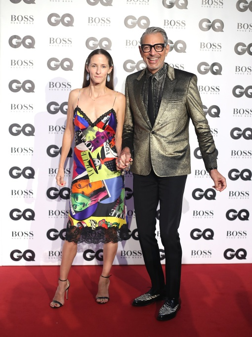 Photo of Jeff Goldblum and Emilie Livingston
