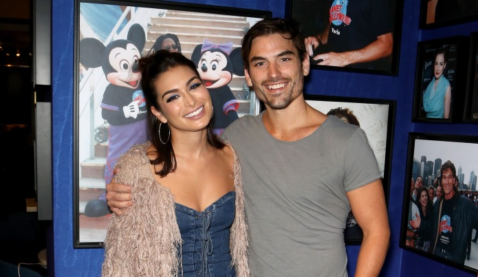 Ashley Iaconetti & Jared Haibon arrive