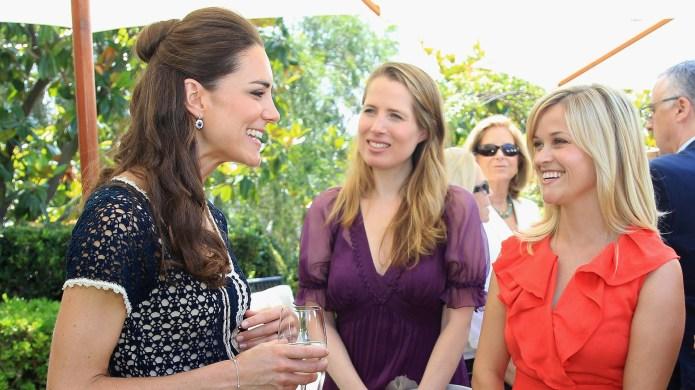 Catherine, Duchess of Cambridge, meets Reese