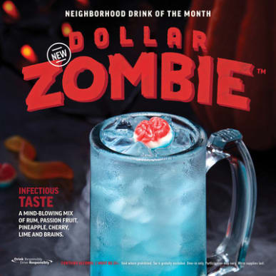 applebees dollar zombie drink