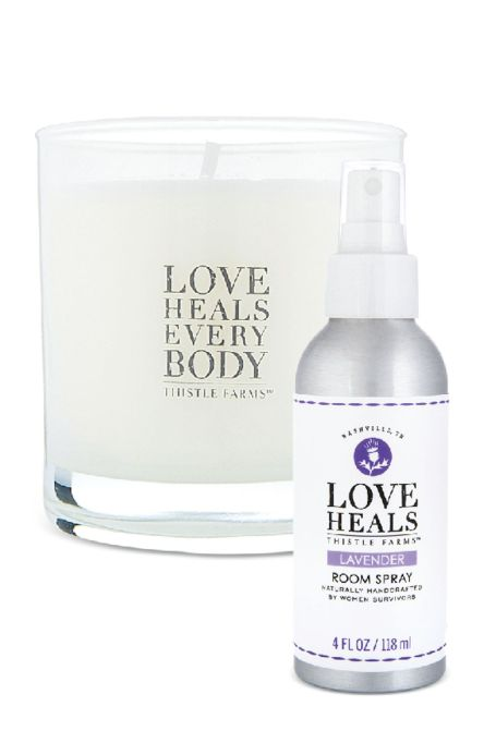 Thistle Farms Soy Candle & Room Spray in Lavender