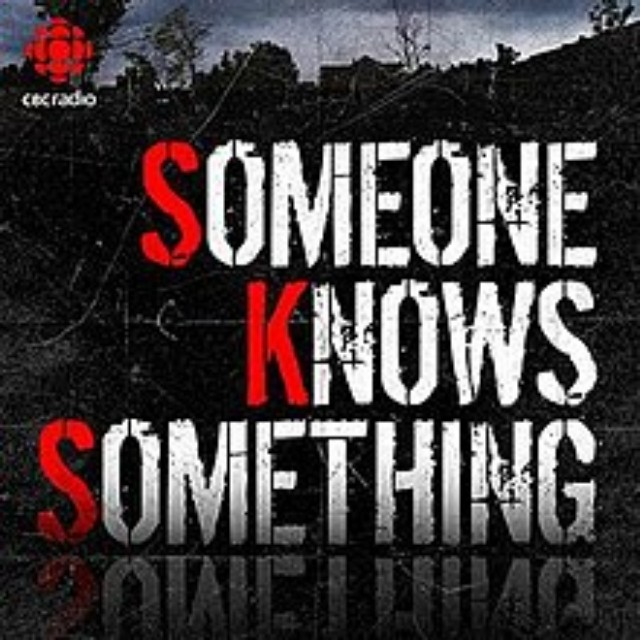Someone Knows Something podcast poster
