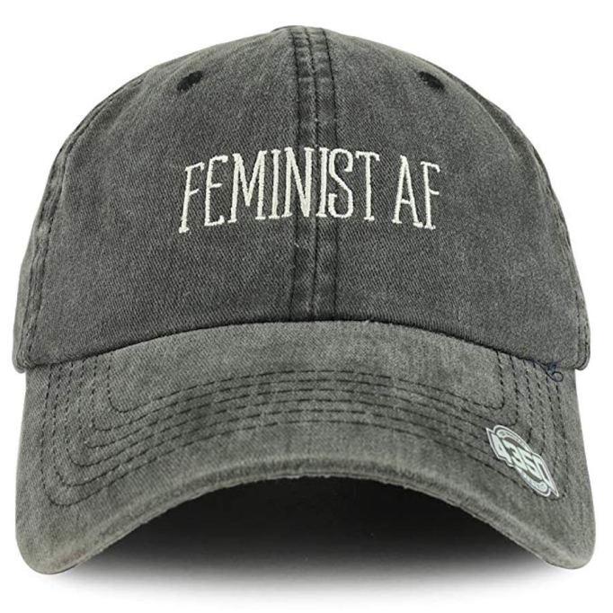 'Feminist AF' Baseball Cap